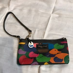 Dooney & Bourke colorful wristlet